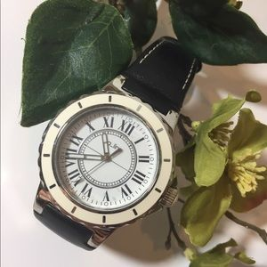 A_line Leather Watch